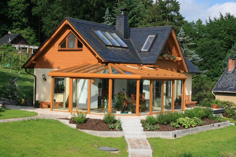 Beautiful Haus Mit Wintergarten Pictures - Thehammondreport.com ...